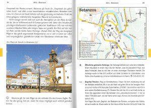 Spanien: Camino Inglés - binnenbladzijden